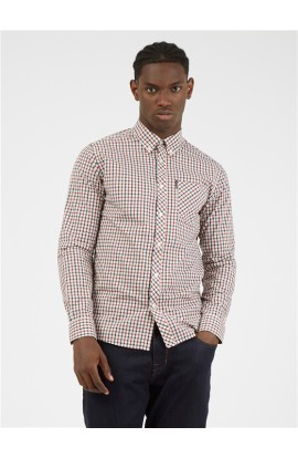 House Check Shirt Red