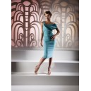 Kevan Jon Cosmo Dress Aqua