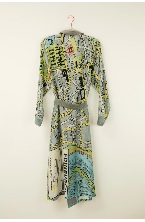 One Hundred Stars Edinburgh Map Gown