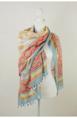 Ceylon Cotton Scarf