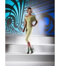 Kevan Jon Halia Dress Lime