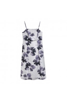 Strappy Floral Print Dress