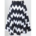 Zoe Zig Zag Full Skirt