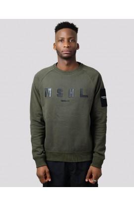 Hybrid Tech Sweatshirt Khaki