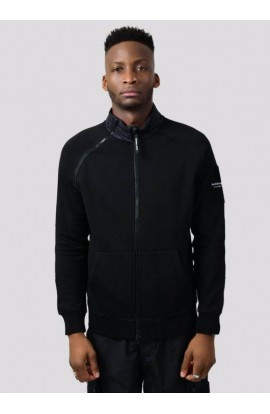 Hybrid Tech Track Top Black