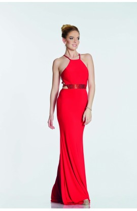Multi Strap Back Dress