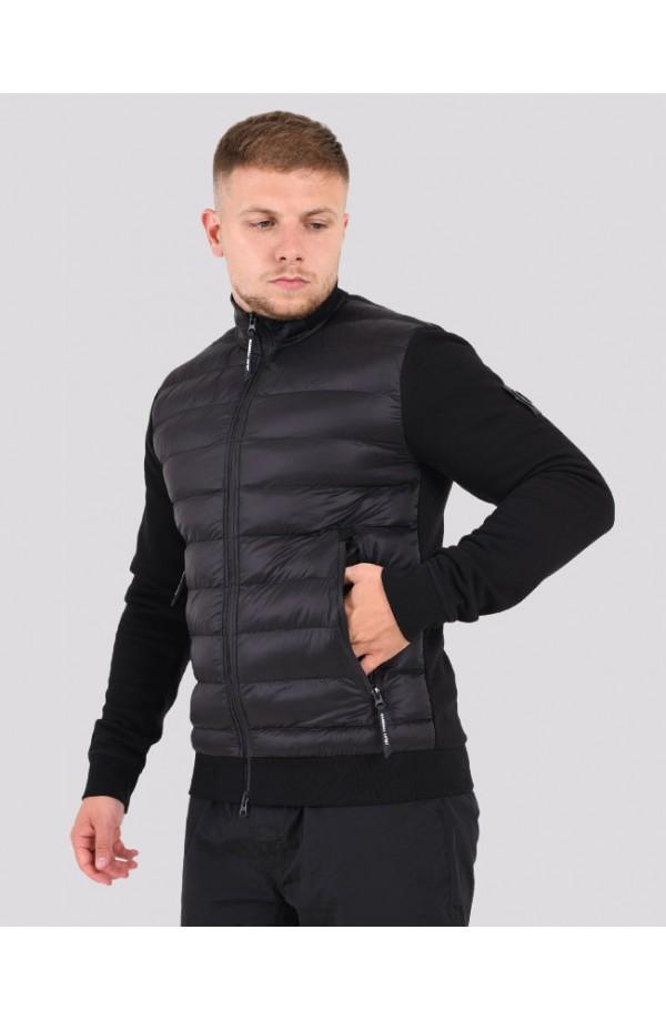 Alpine Funnel Neck Jacket Black