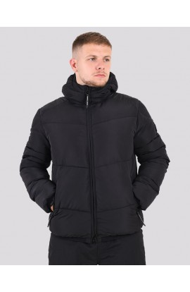Paninaro Bubble Jacket Black