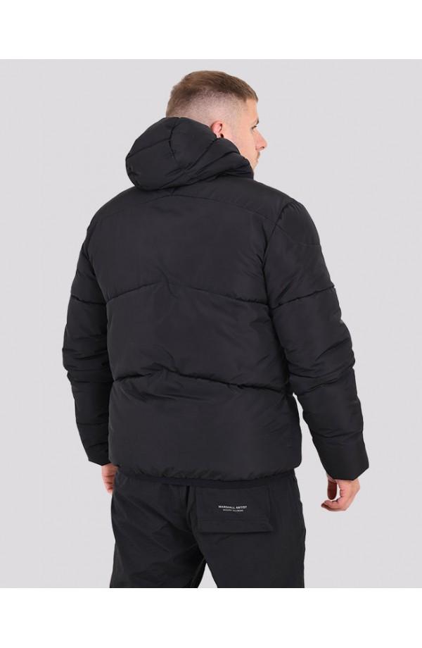 Paninaro Bubble Jacket Black