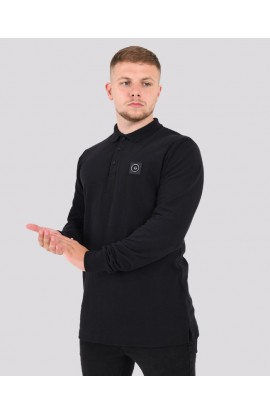 Siren Polo Neck Top Black