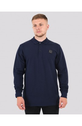 Siren Polo Neck Top Navy
