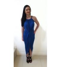 Kevan Jon Mae Dress Cobalt