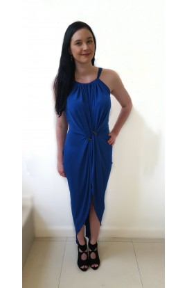 Kevan Jon Mae Dress Cobalt