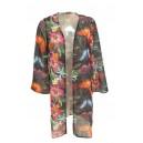 Floral Kimono Black