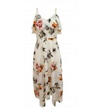 Floral Cami Midi Dress