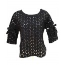 Heart Jumper Black