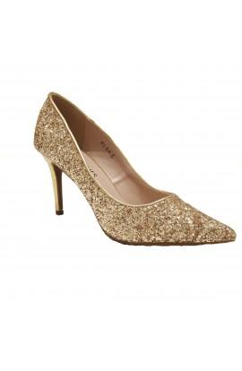 Glitter Heels Gold