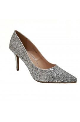 Glitter Heels Silver