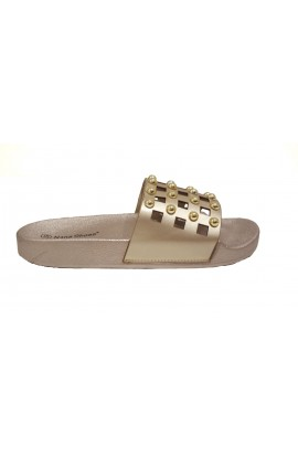 Stud Sliders Gold