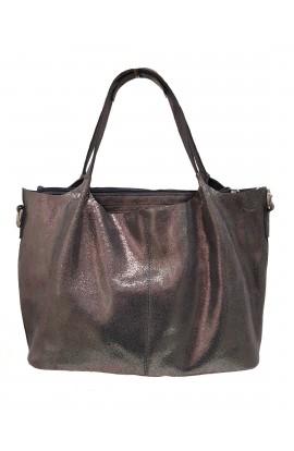 Real Leather Grab Bag