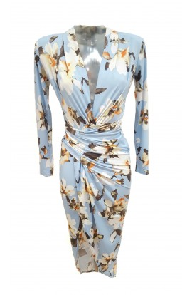 Floral Dress Blue