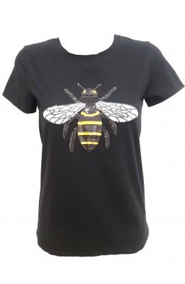 Bee T-shirt Black