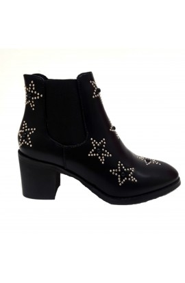 Stars Boots Black