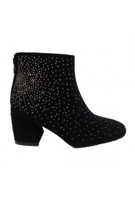 Diamante Boot Black
