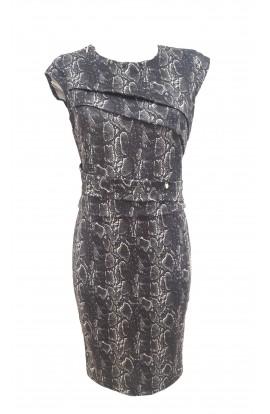 Snake Tuck Dress