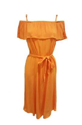 Marrakech  Dress Orange