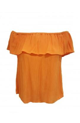 Marrakech Top Orange