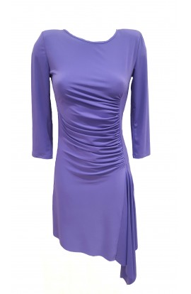 Gathered Dress Lilac