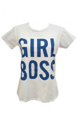 Girl Boss Top Blue