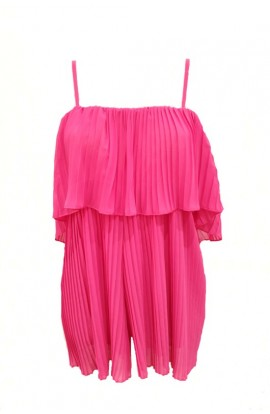 Pleated Cami Playsuit (More Colours)