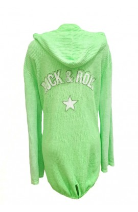 Rock and Roll Cardi Green