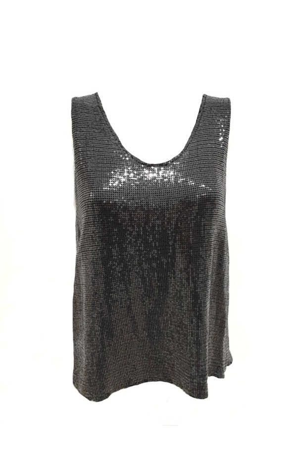 All Over Sequin Vest (More Colours)