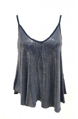 Sequin Swing Vest Top (More Colours)