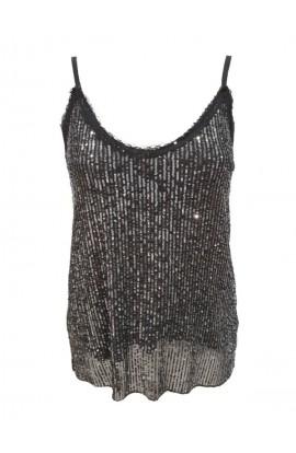 Sequin Vest Top (More Colours)