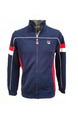 Slalom Funnel Neck Track Jacket Navy