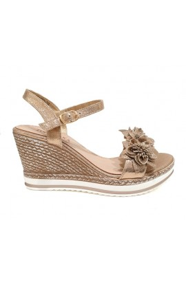 Flower Wedges Gold