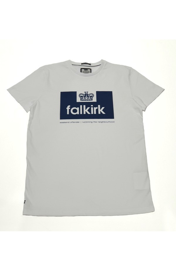 Falkirk T Shirt White