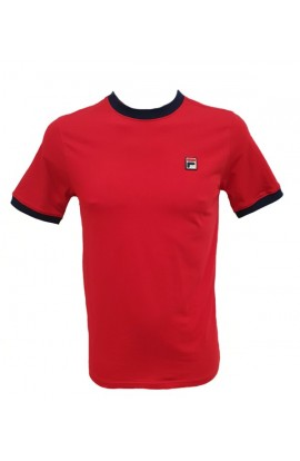 Marconi Tee Red