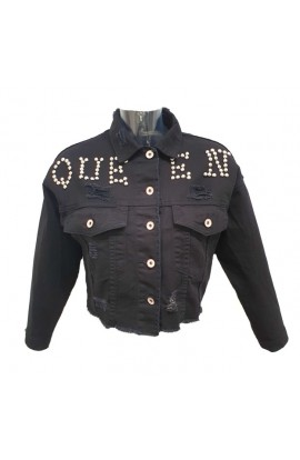 Queen Jacket Black