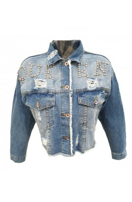 Queen Jacket Denim