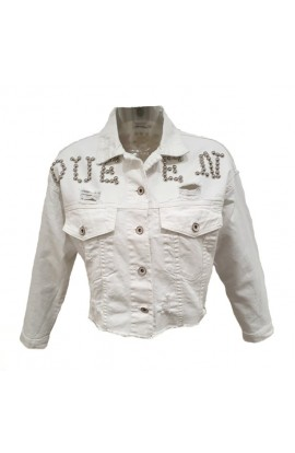 Queen Jacket White