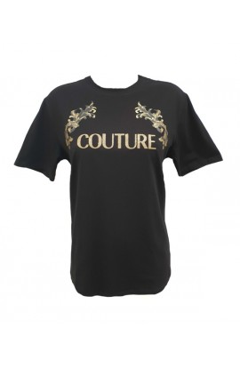 Oversize Couture Tee Black