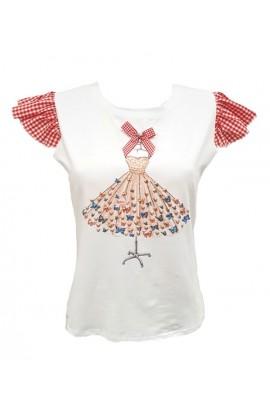Butterfly Dress Top