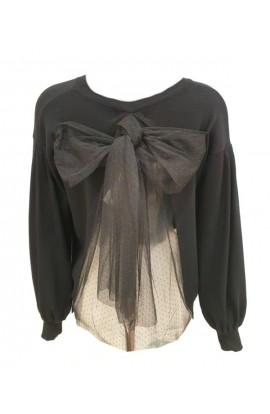 Bow Back Jumper (More Colours)