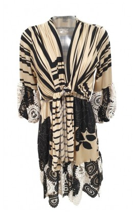 Crochet Edge Dress