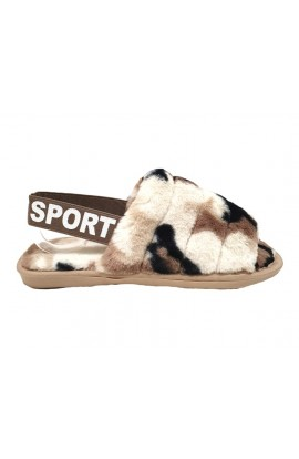 Camo Slippers Cream
